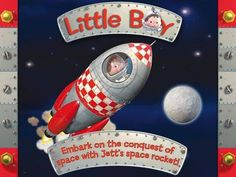 Jett's space rocket - Little Boy - an interactive storybook (5 pages/scenes, 2 reading modes) based on a book from the popular 'Little Boy' series. Appysmarts score: 83/100 http://www.appysmarts.com/application/jett-s-space-rocket-little-boy,id_97100.php