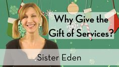 To be sure your gifts don't end up at Santa's Reclamation Center, give the gift of services! This video explains why.