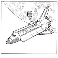 29 coloring pages of space travel history on kids n funco
