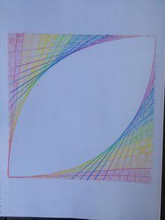 Geometry line drawing waldorf 5th grade