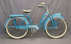 Has springer front suspension, locomotive headlight with switch, guard. on Apr 2010 Bicycle Quotes, Cycling Quotes, Cycling Art, Cycling Bikes, Cycling Jerseys, Dutch Bike, Bicycle Women, Old Bikes, Pedal Cars