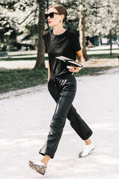 20 All-Black Outfit Ideas for Every Type of Style via @WhoWhatWearUK