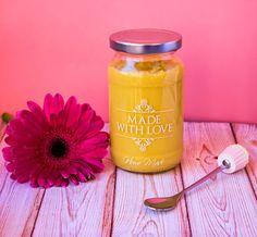 Shine suflower (Mango curd)