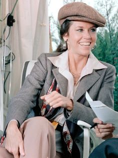 Jane Fonda's Cannes Looks Through the Years Patti Hansen, Bianca Jagger, Grace Jones, Diane Keaton, Margaret Howell, Lauren Bacall, Catherine Deneuve, Jane Fonda, Twiggy