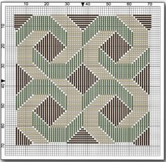 Swirl Needlepoint Design & Stitch Guide to Work in Spare Moments: Getting Ready to Needlepoint