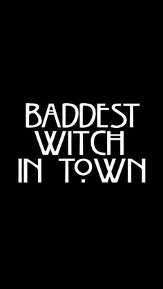 American horror story  ~Baddest witch in town~