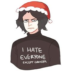 kylo ren during the holidays
