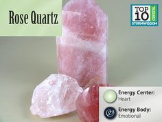 Rose Quartz is one of the more potent stones for the Heart Energy Center. Its energetic support is important for self-realization and for inner peace. For those who as children did not feel loved or nurtured, this is an ideal stone to work with.
