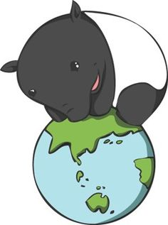 cute illustration! randomly found when searching for tapirs!