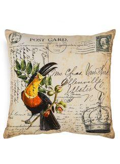 A Loja do Gato Preto | Capa de Almofada Ave / Lettering #alojadogatopreto Apartment Living, Reusable Tote Bags, Throw Pillows, Cool Stuff, Mantle, Wood, Black, Craft, Birds