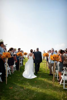 Orange in Summer { Real Oahu Wedding } #Hawaii Photographer: Rachel Robertson Venue: Loulu Palm Estate
