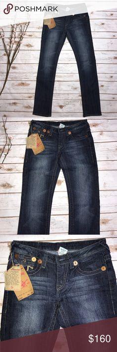True Religion Jeans Joey Super T Size 27 True Religion Jeans Joey Super T Size 27 True Religion Jeans Straight Leg