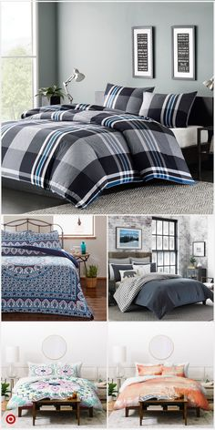 Shop Target for duvet cover set you will love at great low prices. Free shipping on orders of $35+ or free same-day pick-up in store. Guest Bedrooms, Boys Bedroom Decor, Bedroom Colour Palette, Country Bedroom, Duvet Cover Sets, Bedroom Decor, Duvet Covers, Comfortable Bedroom, Bedding Sets