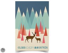 Climb Every Mountain - 11 x 17 Poster - The Sound of Music
