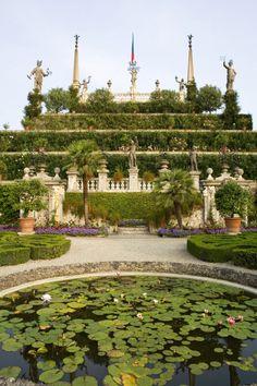 Jardines de Isola Bella, Italia