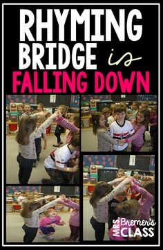 Rhyming Bridge {Is Falling Down}