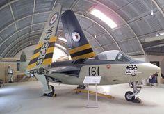 Airfix 'Fly Navy' at Old Warden Aerodrome Military Jets, Military Aircraft, De Havilland Vampire, Aviation Industry, Navy Aircraft, Aircraft Design, Royal Navy, Pilots, Museums