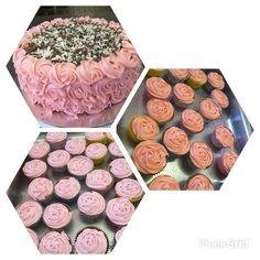 Red Velvet and Vanilla Cupcakes #Chocolate and Vanilla Sponge