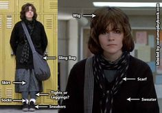 Breakfast Club Allison Reynolds Outfit                              …