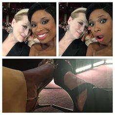 And got to clink her Oscar heels with Meryl:   21 Behind-The-Scenes Pictures You Missed From The Oscars
