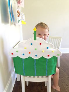 Sweeten up any birthday with an adorable cupcake chair cover for a kids chair! Every birthday babe will feel extra special with this festive seat decoration. Gift a unique birthday chair cover to your favorite teacher for the classroom or keep it at home to add a special touch for your birthday kiddo! If you prefer a plain cupcake without sprinkles, simply include that in notes to seller upon checkout. Covers come in 4 sizes: MINI (fits most preschool chairs designed for 2-3 year olds)…