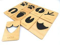 Drevená vkladačka stopy zvierat slovenskej výroby, ktorá zabaví vaše detičky a zároveň pomôže vaším deťom rozvíjať jemnú motoriku, zručnosť, sústredenie a pomôže vašim deťom spoznať zvieratká a ich stopy. Ice Tray, Silicone Molds, Montessori