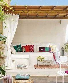 Muebles de obra o concreto para tu terraza, ¡resistentes y durables!