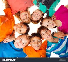 Circle of happy kids together smiling Positive Images, Dental Health, Happy Kids, Presentation Design, Royalty Free Images, Something To Do, Back To School, Homeschool, Childhood
