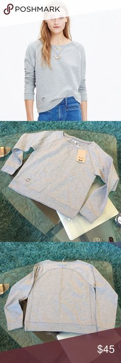 Madewell sweatshirt New with tags Madewell sweatshirt size S Madewell Tops Sweatshirts & Hoodies