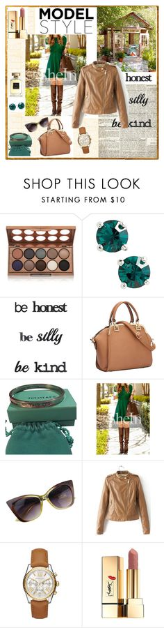 """elegant  lady"" by alenka-flower ❤ liked on Polyvore featuring NYX, Kent & King, Umbra, Tiffany & Co., Michael Kors, Yves Saint Laurent, Annick Goutal, polyvoreeditorial and polyvorecontest"