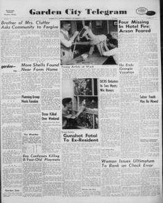 """""""Celebrada la boda, todos los Clutter se dispersaron. El lunes, día en que los últimos de ellos abandonaron Garden City, el Telegram publicó en su primera plana una carta escrita por el señor Howard Fox de Oregón, Illinois, hermano de Bonnie Clutter""""."""