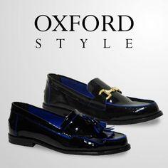 deales para conseguir un look sofisticado, con un toque masculino y muy chic. Más modelos pinchando en la imagen. #oxford #zapatos #style #exe #exeshoes