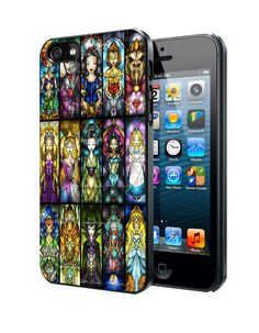 Disney Princesses And Other Character Samsung Galaxy S3 S4 S5 Note 3 Case, Iphone 4 4S 5 5S 5C Case, Ipod Touch 4 5 Case