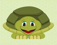 INSTANT DOWNLOAD ART Sea Turtle Nursery by Shanna Riehl Art Shoppe $3.50