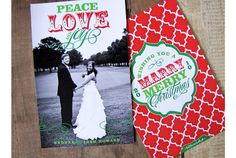 """Marry"" Merry Christmas card I Custom by Nico and Lala"