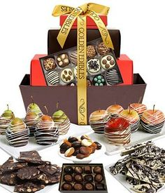 From You Flowers  Grand Belgian Chocolate Covered Fruit Gift Basket 40 Pieces *** Check out the image by visiting the affiliate link Amazon.com on image.