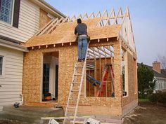 Milwaukee Home Addition and Room Additions! Are you looking for more livable space in your home…without moving? A home addition is the solution! Home Addition Cost, Family Room Addition, Sunroom Addition, Garage Addition, Shed Addition Ideas, Second Story Addition, Building An Addition, Building A New Home, House Building