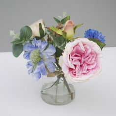 Pale Pink Ariticial Bouquet - trees & flowers
