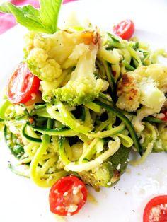 Zuccini Faux Spaghetti by prouditaliancook #Zucchini #Spaghetti #prouditaliancook