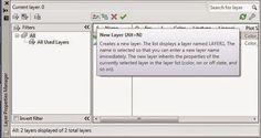 Cadgue: Fungsi dan penggunaan Layer pada Autocad