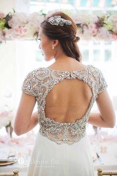 Wedding dress idea; Featured Photographer: Denise Lin Photography