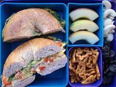 Bagel sandwich idea..