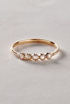Liven Co. Rosecut Diamond Ring in 14k Gold #anthrofave