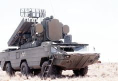 9K33 Osa SA-8 Gecko Self-Propelled Surface-to-Air Missile System (Russia)