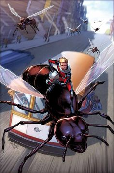 Ant-Man Annual #1 by David Marquez and Justin Ponsor *
