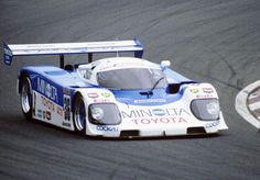 Minolta Toyota race car 1989 from the Gran Turismo video game