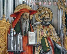 Jerome and Gregory - Rooms-Katholieke Kerk - Hiëronymus en Gtegorius.