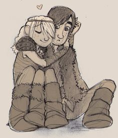 how to make the cutest movie by luve on deviantART < Hiccup and Astrid. :)