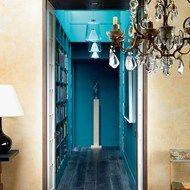 Jewel-like Blue Corridor