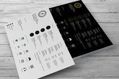 Creative Resumes by celcius design on Creative Market